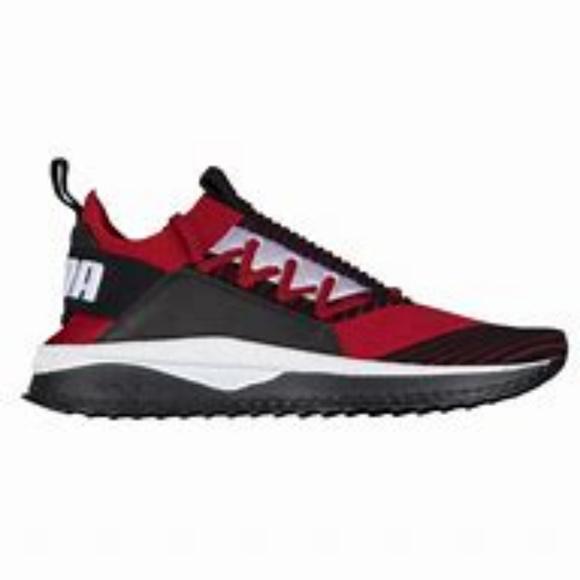 Puma Shoes   Puma Men Tsugi Jun Red